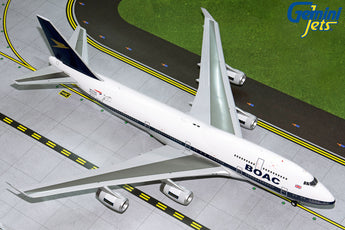 British Airways Boeing 747-400 G-BYGC BOAC Retro Livery GeminiJets G2BAW834 Scale 1:200