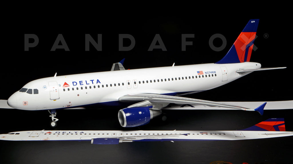 Delta Airbus A320 N374NW GeminiJets G2DAL328 Scale 1:200