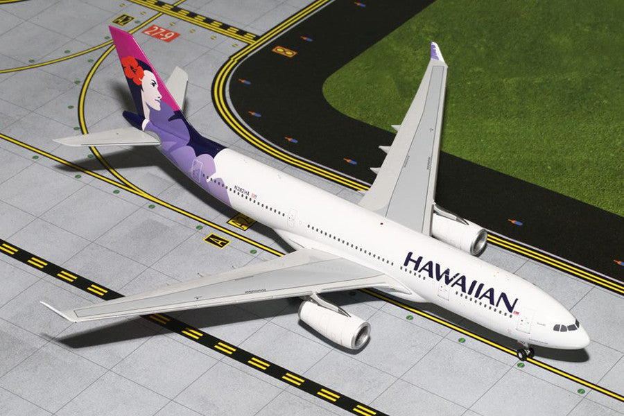 Hawaiian Airlines Airbus A330-200 N382HA GeminiJets G2HAL516 Scale 1:200