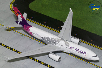 Hawaiian Airlines Airbus A330-200 N380HA GeminiJets G2HAL751 Scale 1:200