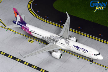 Hawaiian Airlines Airbus A321neo N204HA GeminiJets G2HAL809 Scale 1:200