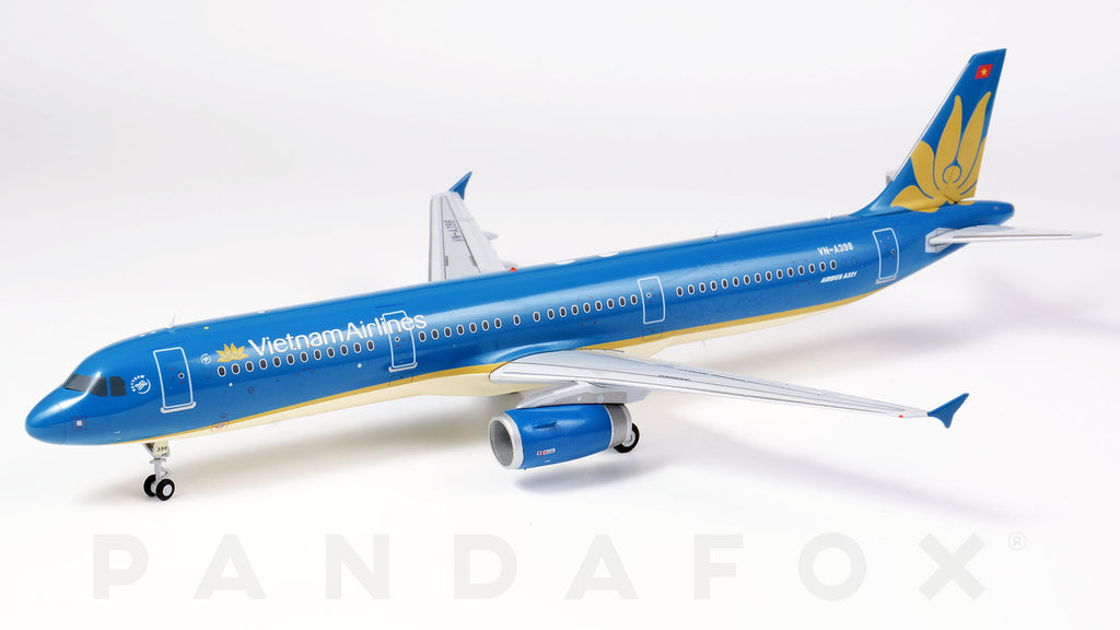 Vietnam Airlines Airbus A321 VN-A398 GeminiJets G2HVN658 Scale 1:200