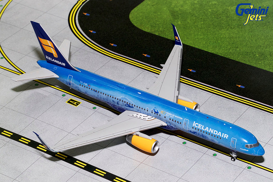 Icelandair Boeing 757-200 TF-FIR 80th Anniversary GeminiJets G2ICE676 Scale 1:200