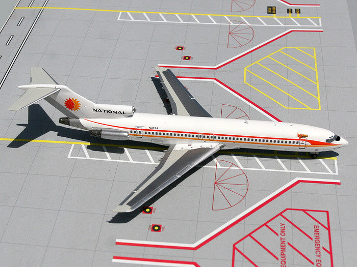 National Airlines Boeing 727-200 N4734 GeminiJets G2NAL111 Scale 1:200