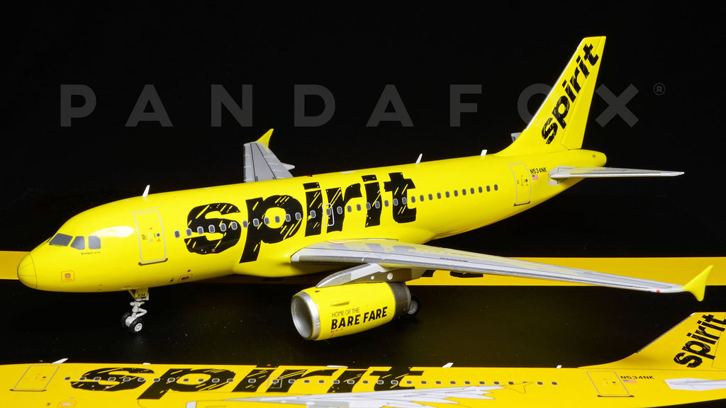 Spirit Airlines Airbus A319 N534NK GeminiJets G2NKS505 Scale 1:200