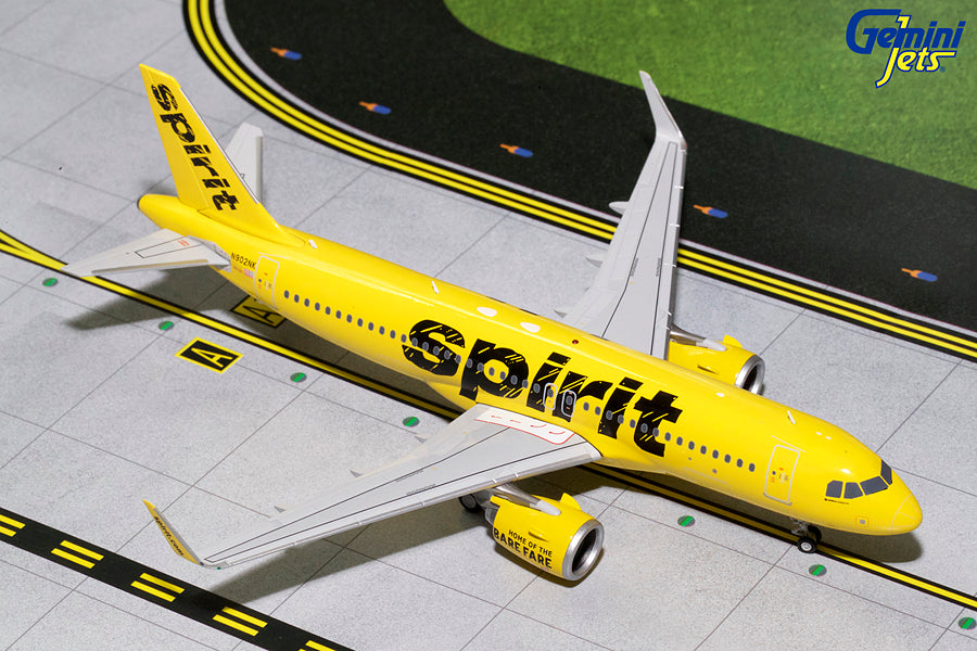 Spirit Airbus A320neo N902NK GeminiJets G2NKS681 Scale 1:200