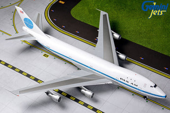 Pan Am Boeing 747-100 N734PA Delivery polished livery GeminiJets G2PAA790 Scale 1:200