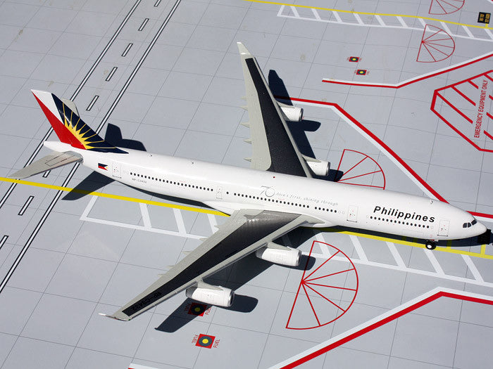 Philippine Airlines Airbus A340-300 RP-C3432 GeminiJets G2PAL374 Scale 1:200