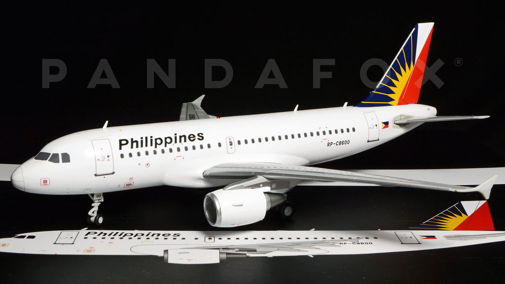 Philippine Airlines Airbus A319 RP-C8600 GeminiJets G2PAL499 Scale 1:200