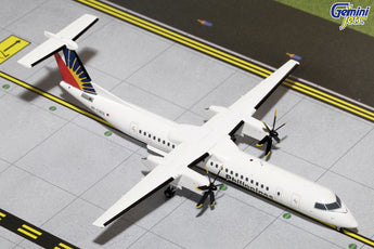 Philippine Airlines Bombardier Dash 8 Q400 RP-C3031 GeminiJets G2PAL578 Scale 1:200
