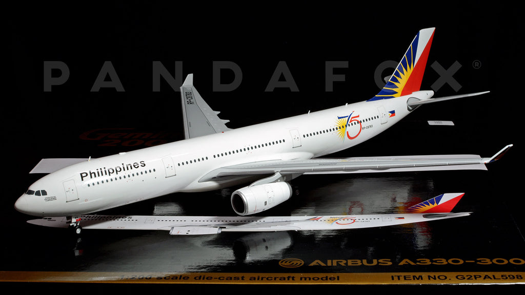 Philippine Airlines Airbus A330-300 RP-C8783 GeminiJets G2PAL598 Scale 1:200