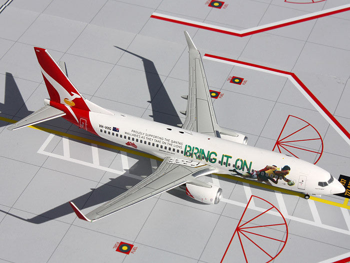 "Qantas Boeing 737-800 VH-VXG ""Bring It On"" GeminiJets G2QFA439 Scale 1:200"