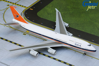 South African Airways Boeing 747-400 ZS-SAX GeminiJets G2SAA556 Scale 1:200