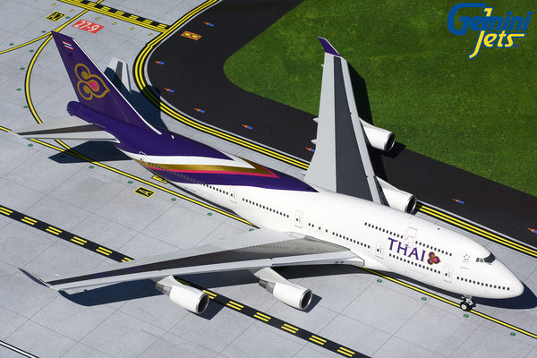 Thai Airways Boeing 747-400 HS-TGP GeminiJets G2THA866 Scale 1:200