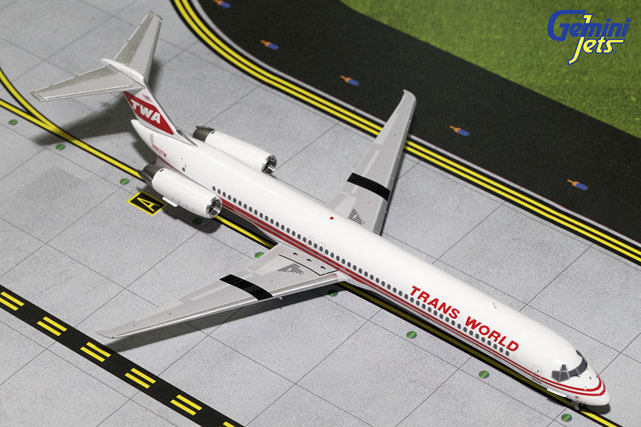 Trans World Airlines MD-80 N903TW GeminiJets G2TWA456 Scale 1:200