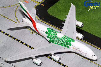 Emirates Airbus A380 A6-EEW Expo 2020 Green GeminiJets G2UAE774 Scale 1:200
