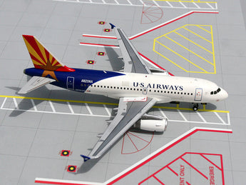 "US Airways Airbus A319 N826AW ""Arizona"" GeminiJets G2USA075 Scale 1:200"