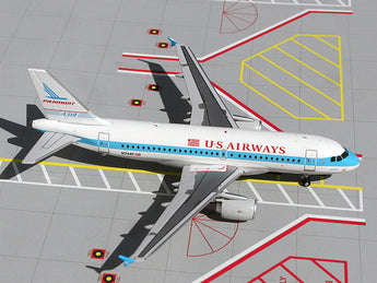 "US Airways Airbus A319 N744P ""Piedmont Heritage"" GeminiJets G2USA076 Scale 1:200"
