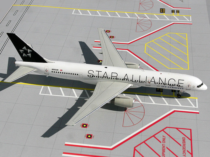 "US Airways Boeing 757-200 N935UW ""Star Alliance"" GeminiJets G2USA098 Scale 1:200"