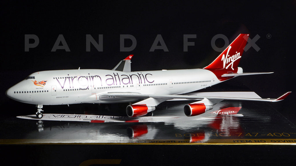 "Virgin Atlantic Boeing 747-400 G-VXLG ""Ruby Tuesday"" GeminiJets G2VIR608 Scale 1:200"