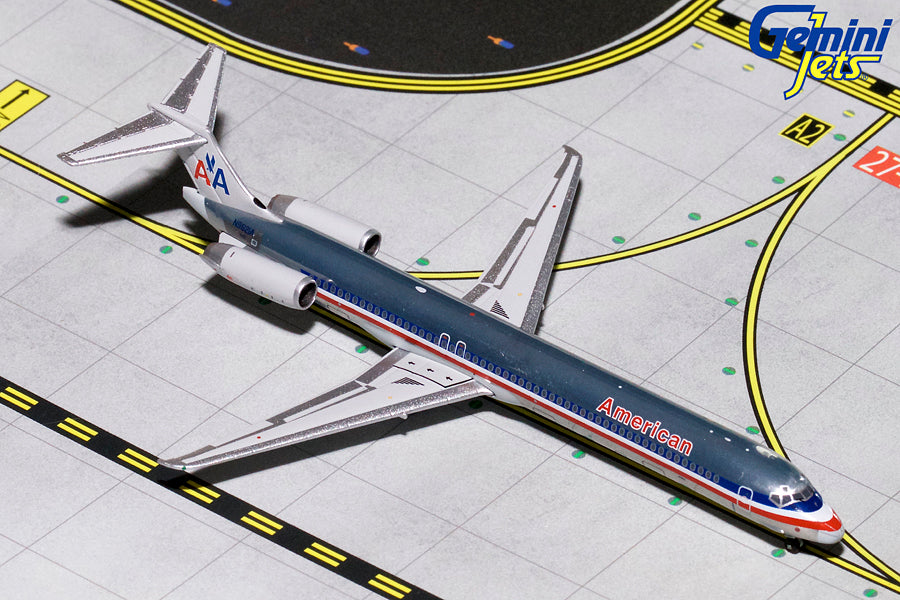 American Airlines MD-83 N9621A GeminiJets GJAAL1794 Scale 1:400