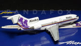 "Alaska Airlines Boeing 727-100 N766AS ""Russian Domes"" GeminiJets GJASA171 Scale 1:400"