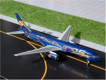 "ATA Boeing 757-200 N520AT ""25th Anniversary"" GeminiJets GJATA086 Scale 1:400"