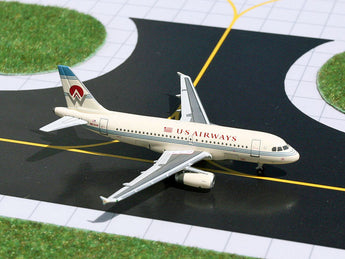 "US Airways Airbus A319 N828AW ""America West Heritage"" GeminiJets GJAWE683 Scale 1:400"