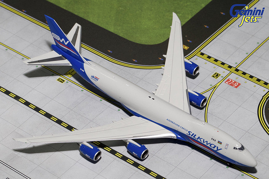 Silk Way Airlines Boeing 747-8F VQ-BVB GeminiJets GJAZQ1553 Scale 1:400