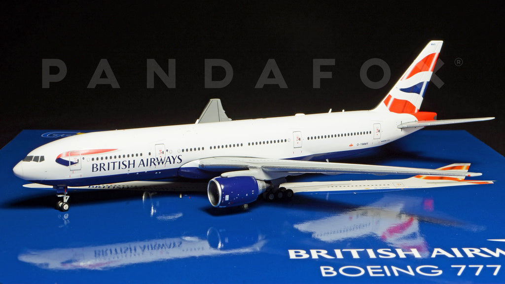 British Airways Boeing 777-200ER G-YMMR GeminiJets GJBAW1416 Scale 1:400