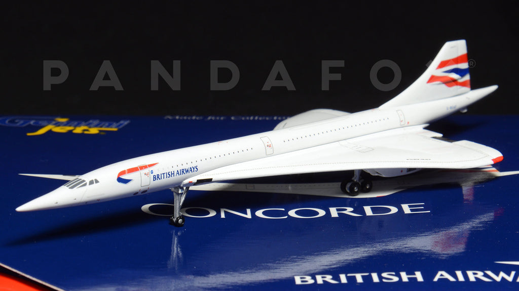 British Airways Concorde G-BOAF GeminiJets GJBAW1667 Scale 1:400