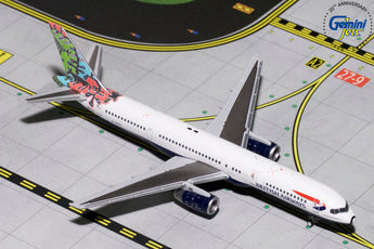British Airways Boeing 757-200 G-CPEL Animals And Trees GeminiJets GJBAW1695 Scale 1:400