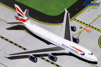 British Airways Boeing 747-400 G-BYGF GeminiJets GJBAW1792 Scale 1:400