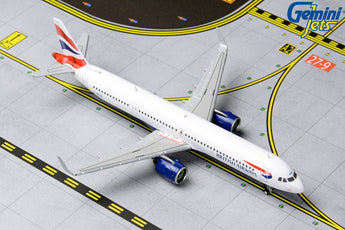British Airways Airbus A321neo G-NEOP GeminiJets GJBAW1836 Scale 1:400