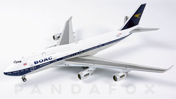British Airways Boeing 747-400 G-BYGC BOAC Retro Livery GeminiJets GJBAW1838 Scale 1:400