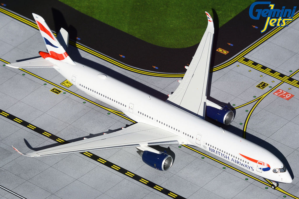British Airways Airbus A350-1000 G-XWBC GeminiJets GJBAW1933 Scale 1:400