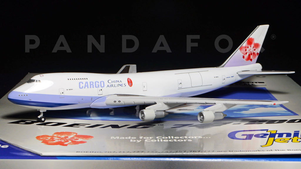 China Airlines Cargo Boeing 747-200F B-18751 GeminiJets GJCAL127 Scale 1:400
