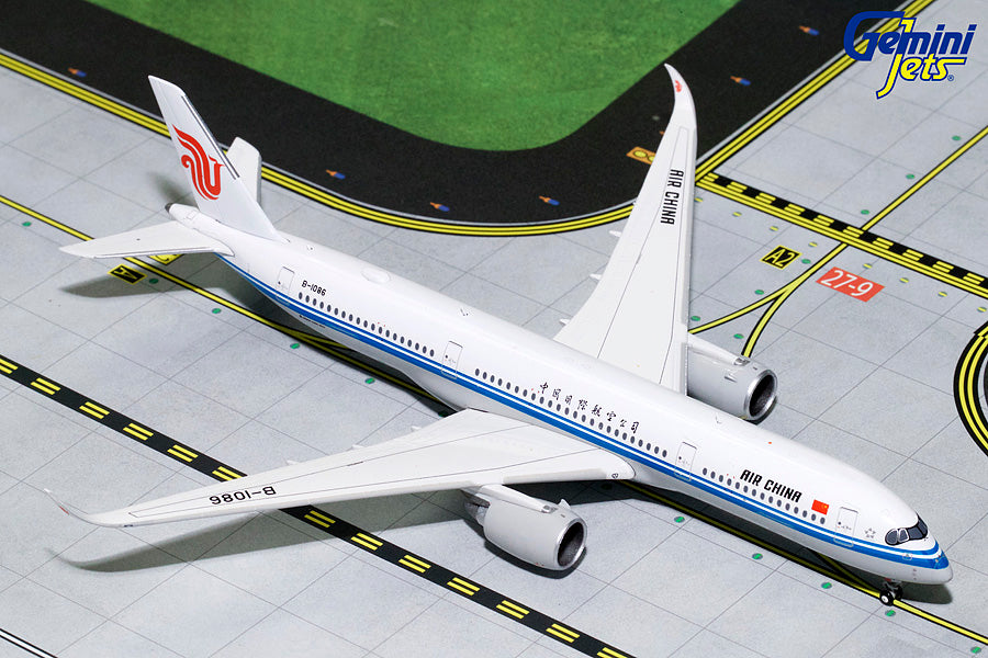 Air China Airbus A350-900 B-1086 GeminiJets GJCCA1748 Scale 1:400