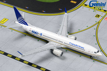Copa Airlines Boeing 737 MAX 9 HP-9901CMP GeminiJets GJCMP1820 Scale 1:400