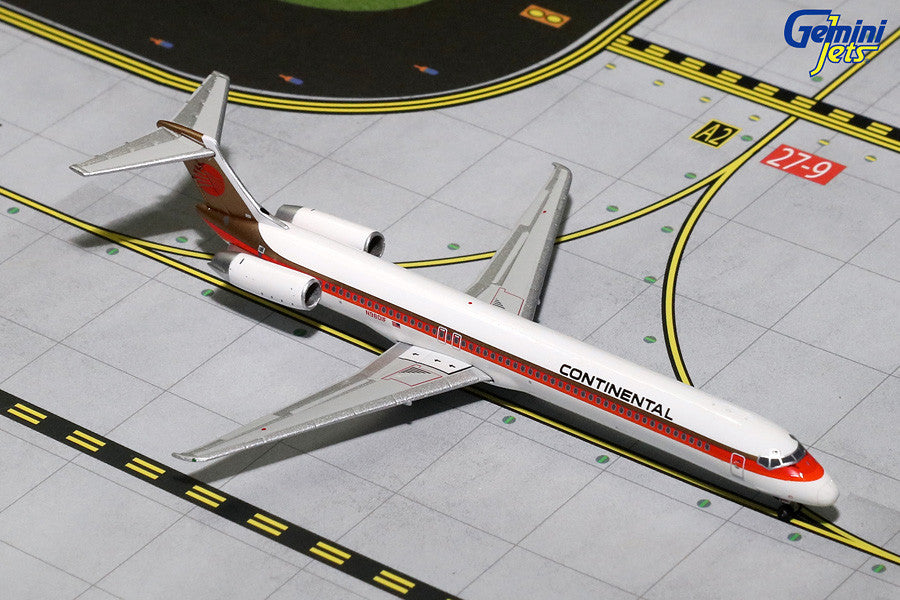 Continental MD-80 N980IF GeminiJets GJCOA1166 Scale 1:400