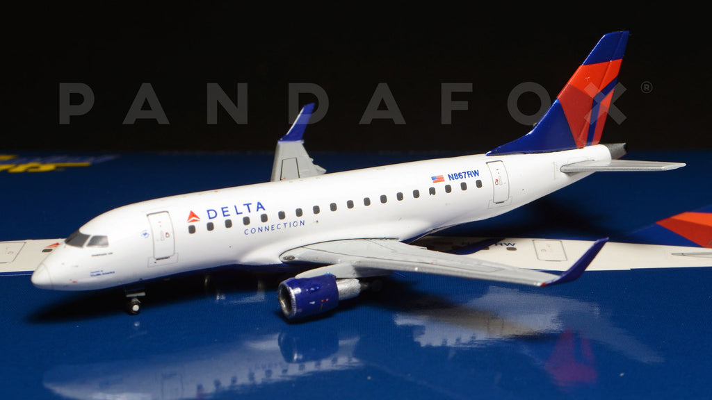 Delta Connection Embraer E-170 N867RW GeminiJets GJDAL1245 Scale 1:400
