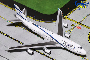 El Al Boeing 747-400 4X-ELB Goodbye Flight GeminiJets GJELY1810 Scale 1:400
