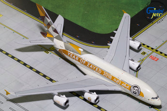 Etihad Airways Airbus A380 A6-APH Year of Zayed 2018 GeminiJets GJETD1813 Scale 1:400