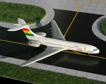 Ghana Airways Vickers VC-10 9G-ABO GeminiJets GJGHA689 Scale 1:400
