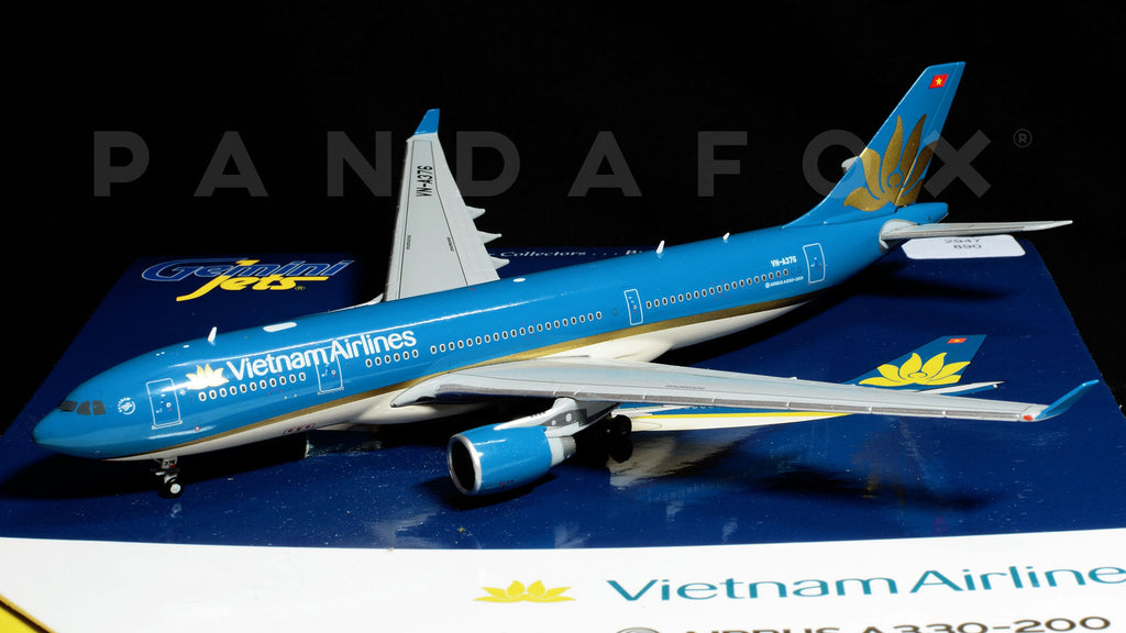 Vietnam Airlines Airbus A330-200 VN-A376 GeminiJets GJHVN1570 Scale 1:400