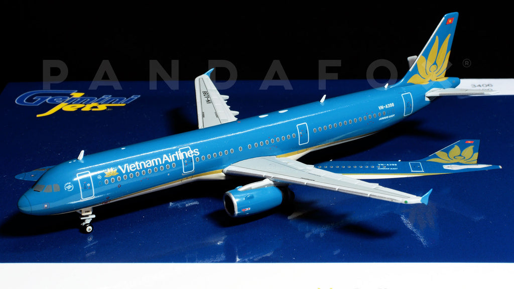 Vietnam Airlines Airbus A321 VN-A398 GeminiJets GJHVN1596 Scale 1:400