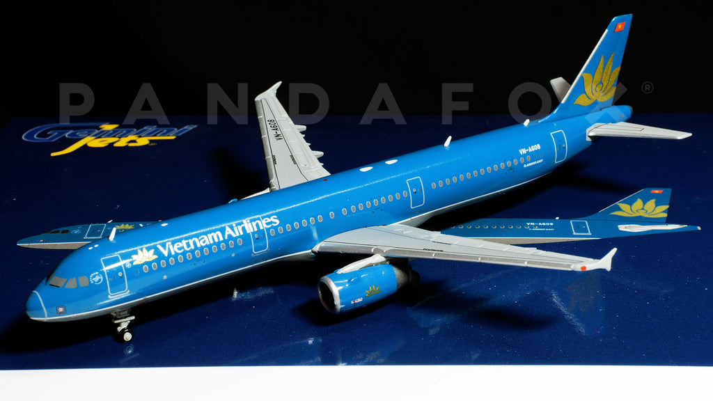 Vietnam Airlines Airbus A321 VN-A608 GeminiJets GJHVN1597 Scale 1:400