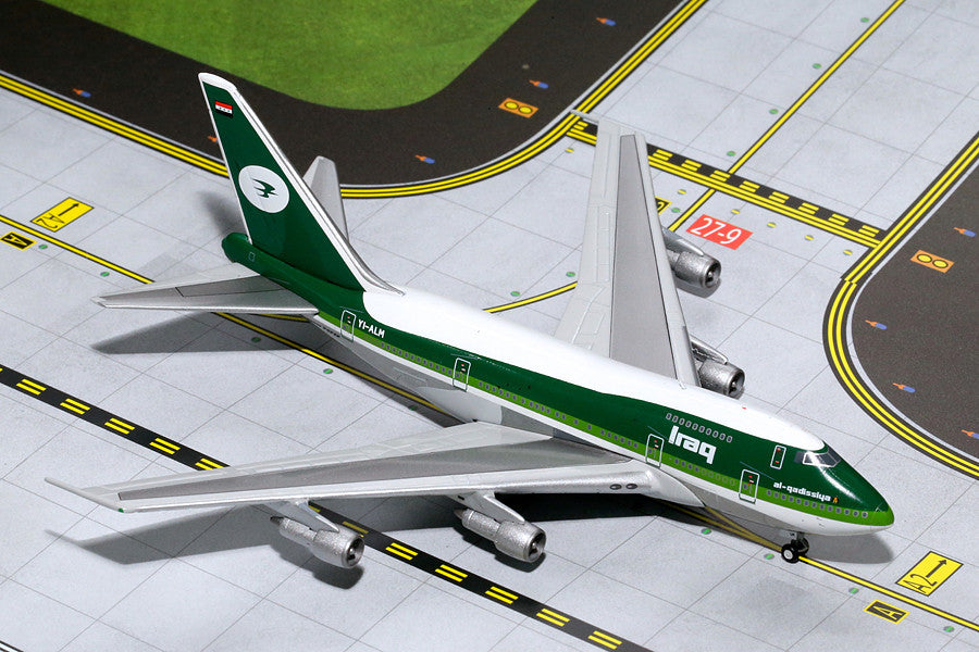 Iraqi Airways Boeing 747SP YI-ALM GeminiJets GJIAW1204 Scale 1:400