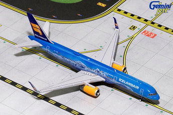 Icelandair Boeing 757-200 TF-FIR 80th Anniversary GeminiJets GJICE1672 Scale 1:400