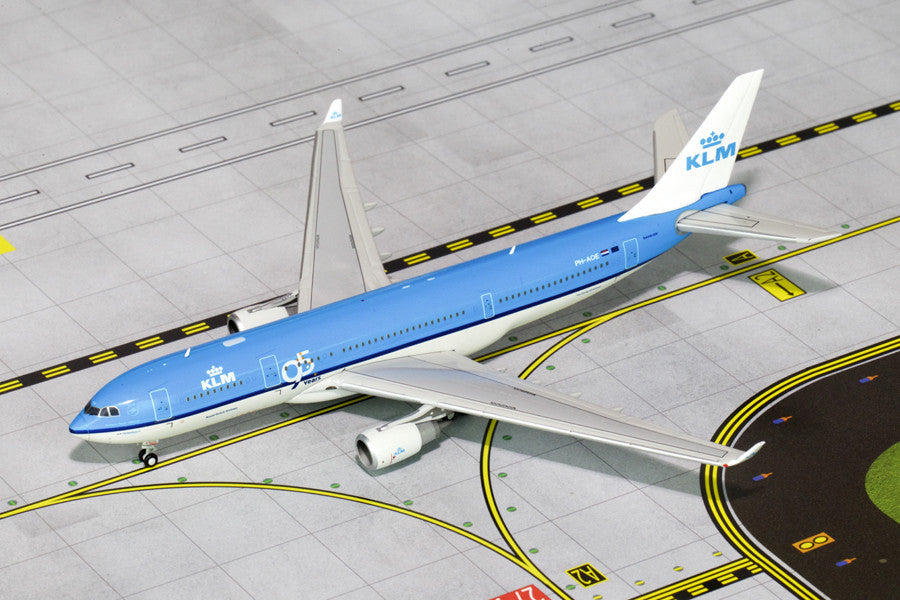 "KLM Airbus A330-200 PH-AOE ""95th Anniversary"" GeminiJets GJKLM1466 Scale 1:400"
